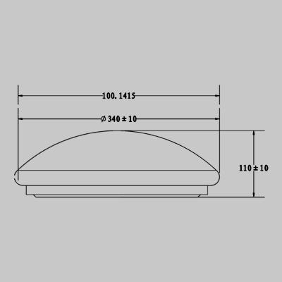 PLAIN LED 16W product image