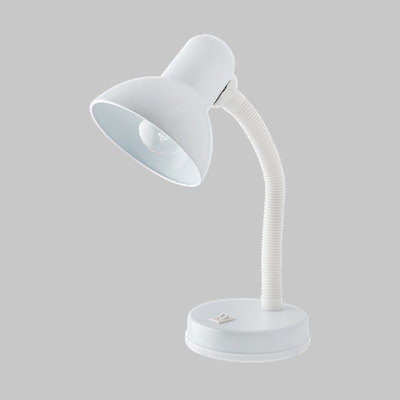 STUDENT DESK LAMP WHITE