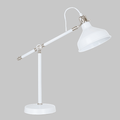 MAX TABLE LAMP WH/SN