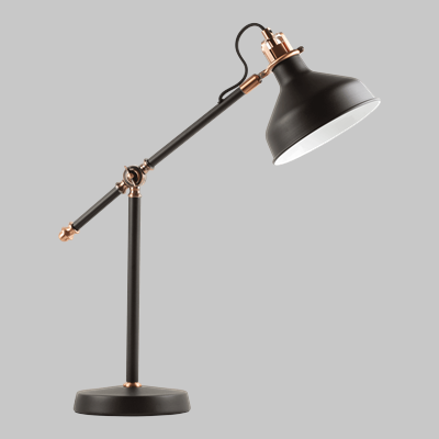MAX TABLE LAMP BLK/COP