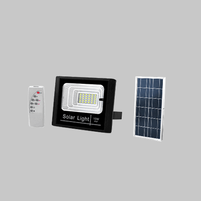 SOLAR 10W  LED FLOOD