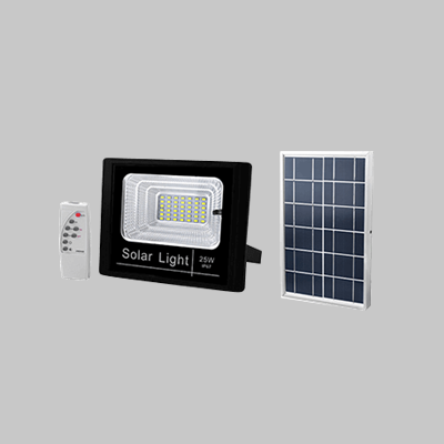 SOLAR 25W LED FLOOD