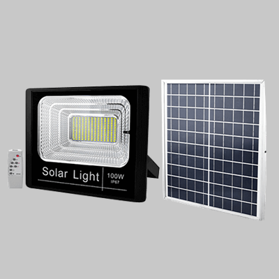 SOLAR 100W LED FLOOD