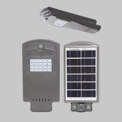 SOLAR 20W LED YARD LIGHT