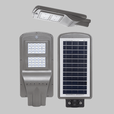 SOLAR 40W LED YARD LIGHT