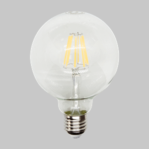 LED FIL G95 CLEAR 8W ES WW is a recommended product for BAGO