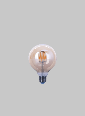 LED FIL G95 AMBER 8W ES WW is a recommended product for BAGO