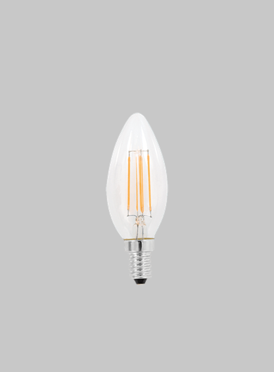 LED FIL CAN CLEAR 4W SES WW Globe product image