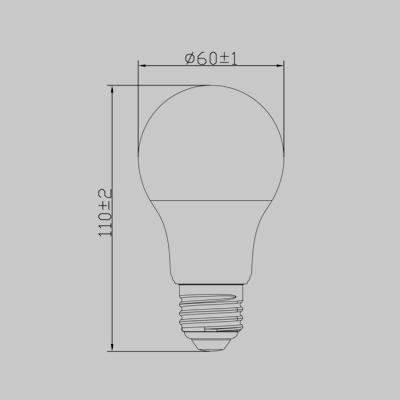 LED 5.5W ES WW product image