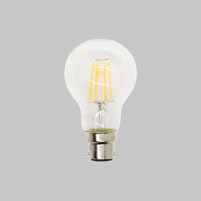 LED  FILAMENT A60  6W BC WW
