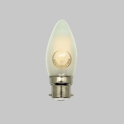 LED CAN 4W BC FR WW