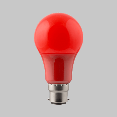 LED 7W BC RED