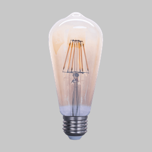 LED DIM FIL ST64 AMBER 8W ES WW is a recommended product for FANAWAY VINTAGE