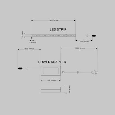 LED STRIP LIGHT WW product image