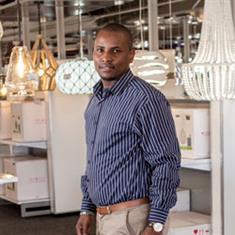 Vusi Nzama at Zebbies Nasrec