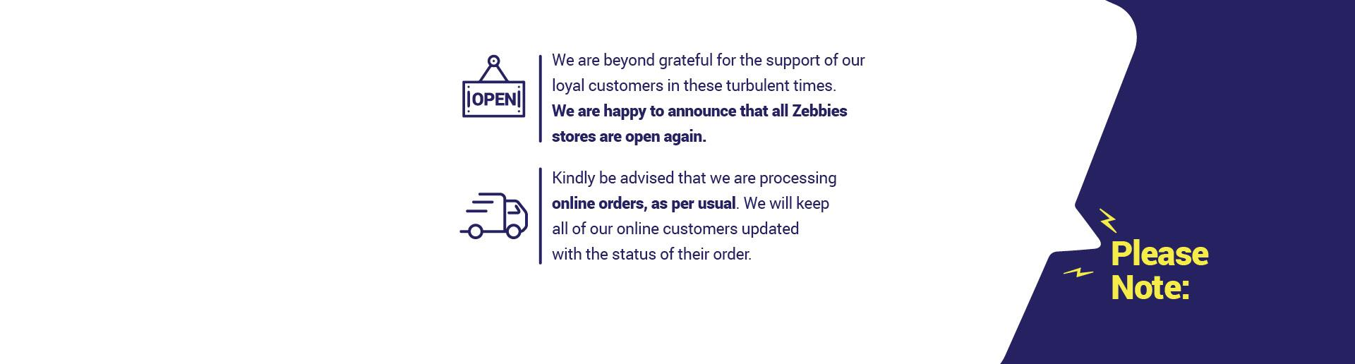 Zebbies home page banner