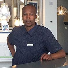 Nkuli Diteho at Zebbies Cape Town